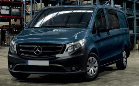 a2924893fe Mercedes Vito Crew Van