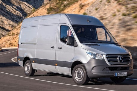 Mercedes 311CDI Sprinter Van 3 5t L2H2 FWD | Lease this van with