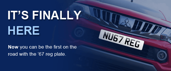 From September 1st, the '67 reg plate is out! - Leasing a Van with ...