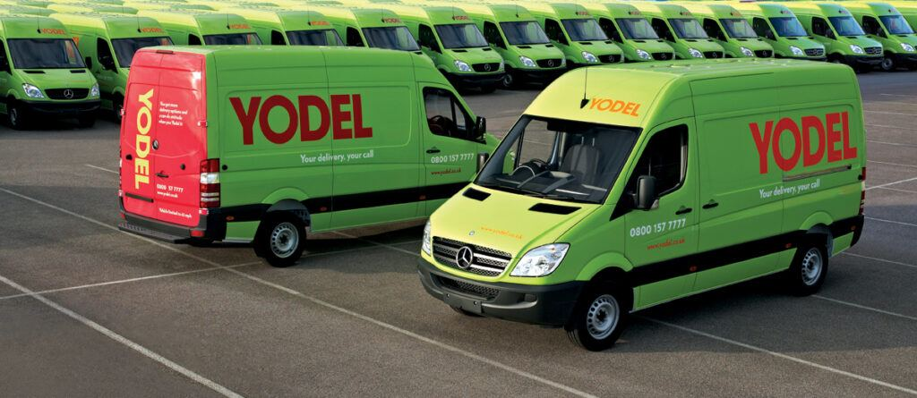 Available Yodel Vans